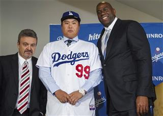 Ned Colletti, Ryu  Hyun-Jin, Magic Johnson