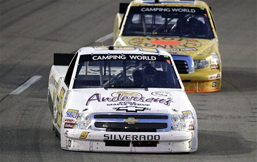 Ron Hornaday Jr., Johnny Sauter