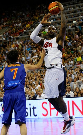 LeBron James, Juan Carlos Navarro