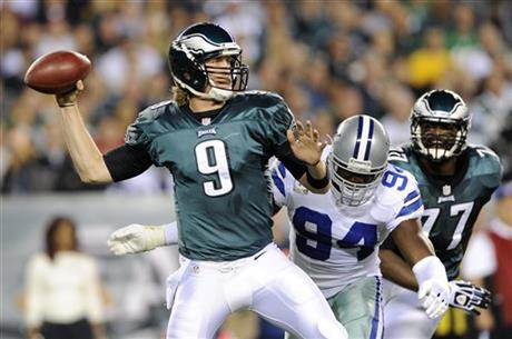 Nick Foles, DeMarcus Ware