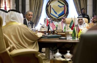 Barack Obama, Saudi Arabia's King Salman