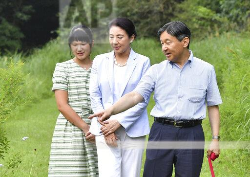 Japan's Imperial Family Summer vacation in Nasu, Japan