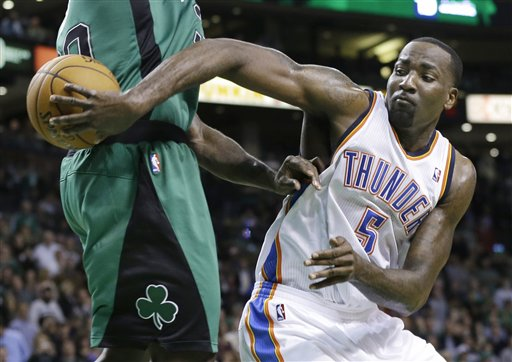Kendrick Perkins, Brandon Bass