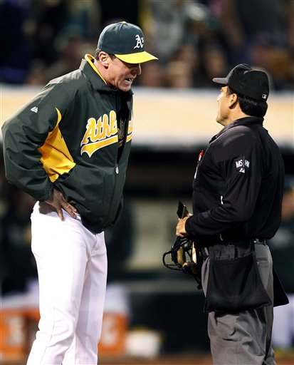 Bob Melvin, Phil Cuzzi