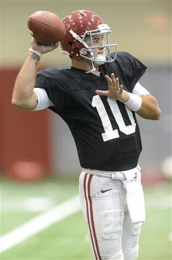 Alabama Football Spring Practice #15