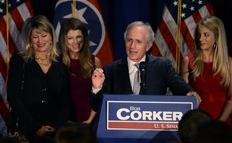 Bob Corker, Elizabeth Corker, Emily Corker, Julia Spickard