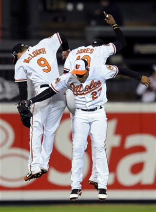 Adam Jones, Endy Chavez, Nate McLouth