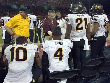 Todd Graham, Keelan Johnson, Alden Darby, Chris Young, Brandon Magee
