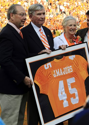 Johnny Majors, Jimmy Cheek, Mary Lynn Majors