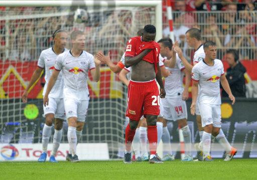 Soccer 1. Bundesliga / 1.Union Berlin - RB Leipzig.