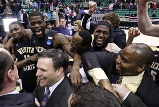 APTOPIX NCAA Wichita St Gonzaga Basketball