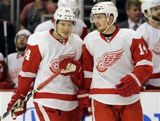 Gustav Nyquist,  Damien Brunner