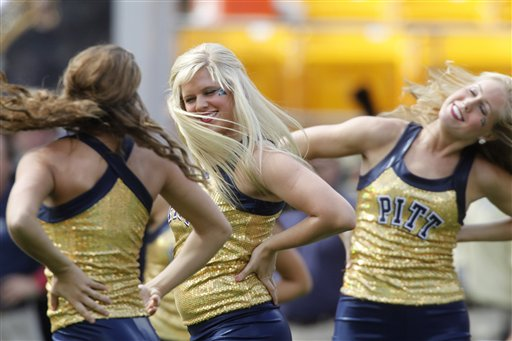 The University of Pittsburgh dance team