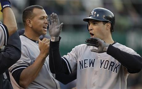 Alex Rodriguez, Mark Teixeira