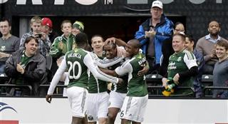 Frederic Piquionne, Jose Valencia, Will Johnson, Darlington Nagbe