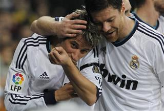 Fabio Coentrao, Xabi Alonso 