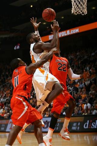 Auburn Tennessee Basketball