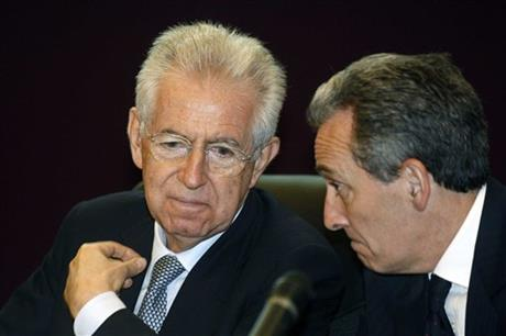 Mario Monti, Vittorio Grilli