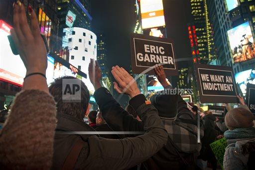 Police Chokehold Death Times Square