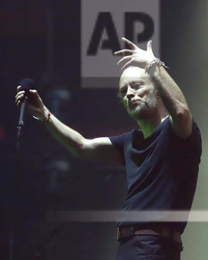 Radiohead in Concert - New York