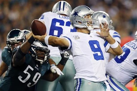 Tony Romo, DeMeco Ryans