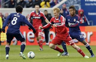Jeff Larentowicz, Edgar Mejia, Juan Agudelo