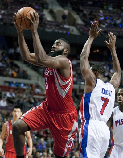James Harden, Brandon Knight