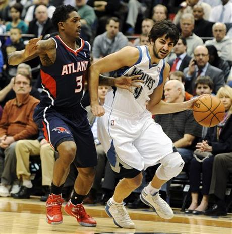 Ricky Rubio, Louis Williams