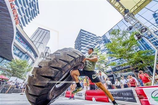TopPho AP I  Guangxi China TPOHP The tyres carrying competition was held in Nanning,Guangxi,China on 18th August, 2019