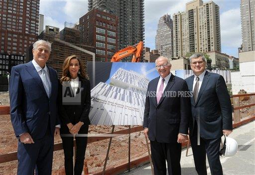 The David H. Koch Center for Cancer Care Groundbreaking