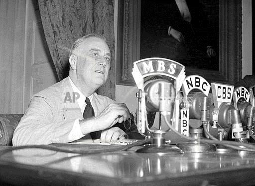 Associated Press Domestic News Dist. of Columbia United States ROOSEVELT ON WELFARE FUNDS