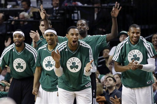 Chris Wilcox, Courtney Lee, Jared Sullinger, Jeff Green, Leandro Barbosa