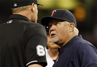 Ron Gardenhire, Ted Barrett