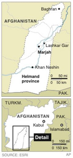 TALIBAN HEARTLAND