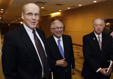 Bill Hancock, Charles Steger, John Peters