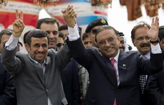 Mahmoud Ahmadinejad, Asif Ali Zardari 