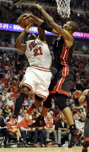 Chris Bosh, Jimmy Butler