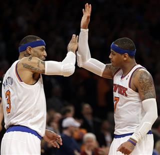 Kenyon Martin, Carmelo Anthony