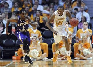 W Carolina Tennessee Basketball