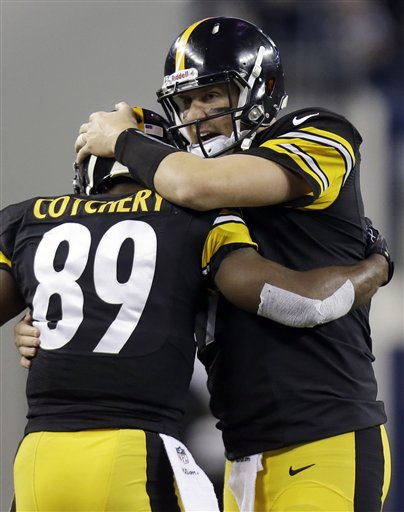 Jerricho Cotchery, Ben Roethlisberger
