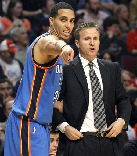 Kevin Martin, Scott Brooks