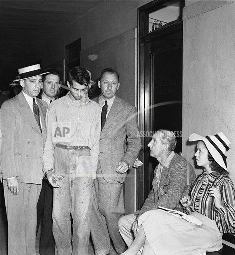 Watchf Associated Press Domestic News  California United States APHS206936 Campus Killer Confronted By Victim 1939