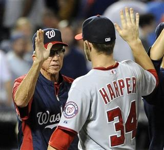Davey Johnson, Bryce Harper
