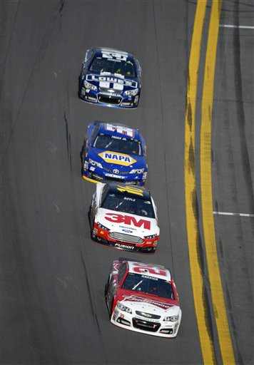 Kevin Harvick, Greg Biffle, Martin Truex Jr., Jimmie Johnson