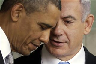 Barack Obama, Benjamin Netanyahu
