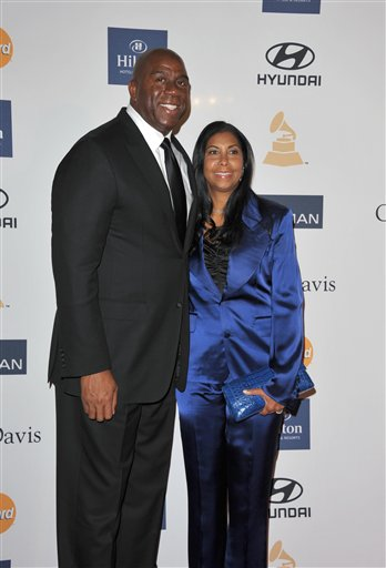 Magic Johnson, Earlitha Kelly