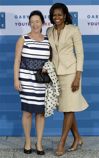 Michelle Obama, Ingrid Schulerud