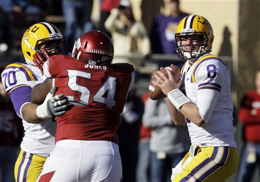 Zach Mettenberger, Byran Jones, Lael Collins