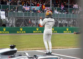 APTOPIX Britain F1 GP Auto Racing