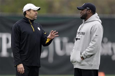 Todd Haley, Mike Tomlin